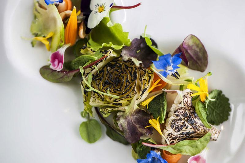 Ο κήπος του σεφ στη «Hytra»