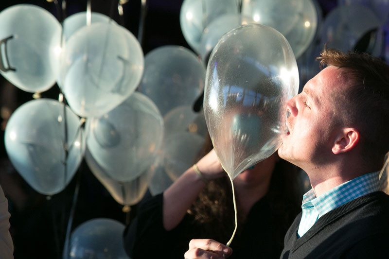 Tα βρώσιμα μπαλόνια του Grant Achatz