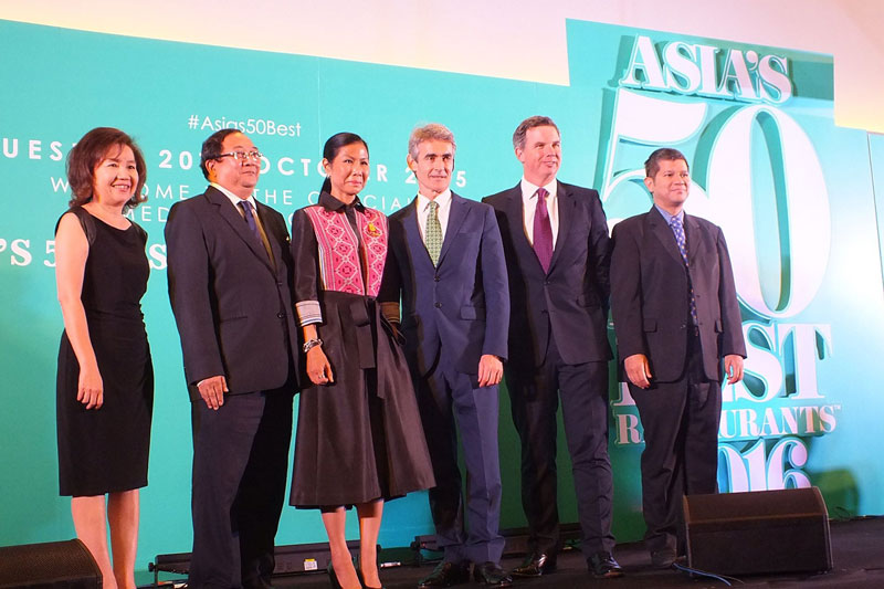 Asia's 50 Best Restaurants 2016: Οι ασιατικές κουζίνες ανεβάζουν ταχύτητες  - Χρυσοί Σκούφοι