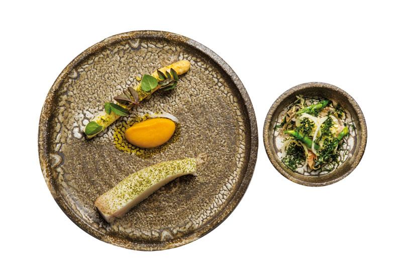 Καλκάνι με σπαράγγια από τον διάστερο Σουηδό σεφ