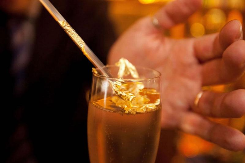 Cocktail Gigi με χρυσό 18 καρατίων