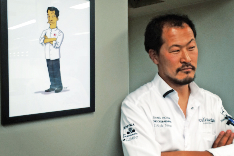 Sang-Hoon Degeimbre – Αλέξανδρος Τσιοτίνης: 2 αστέρια Michelin και 1 Χρυσός Σκούφος μαγειρεύουν στο «CTC» - Χρυσοί Σκούφοι