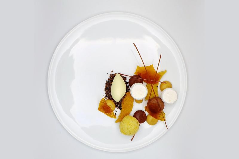 Η κουζίνα του «L'Air du Temps» αντανακλά την προσωπική κουλτούρα του Βελγο-κορεάτη σεφ