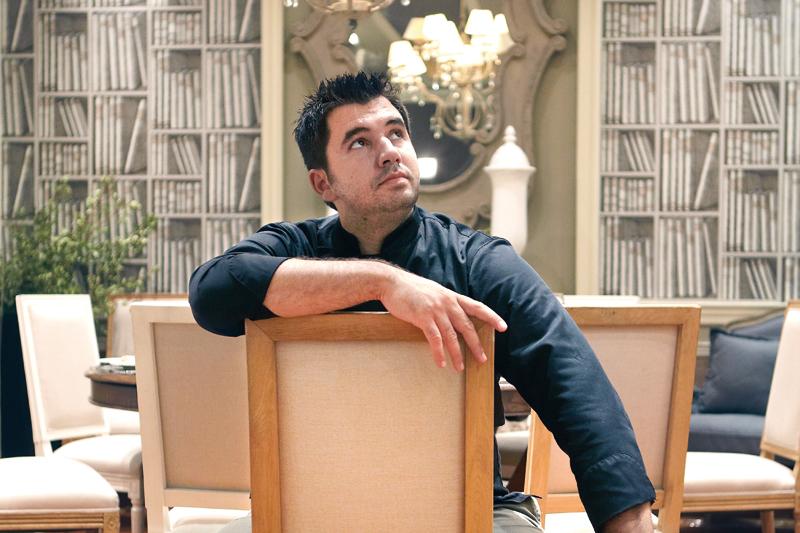 Την κουζίνα του εστιατορίου  του νέου «Hydrama Grand  Hotel» στη Δράμα επιμελείται  ο Γκίκας Ξενάκης