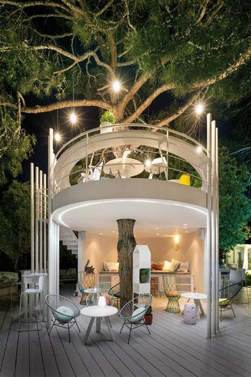 Το «Τree House» του «Ekies All Senses Resort», στη Χαλκιδική