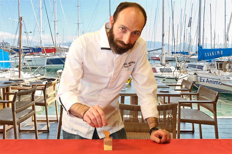 O Θοδωρής Μωυσίδης τολμά εξαιρετίκ conceptual γλυκά στο «Βαρούλκο» - Χρυσοί Σκούφοι