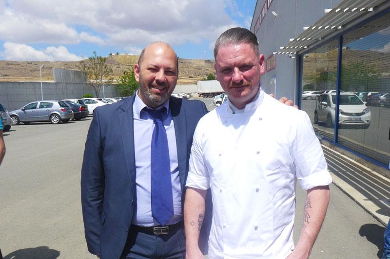 Χάρης Χαραλαμπίδης (Gastronomy Essentials), Mark Guillain-Williams (sous-chef του Ducasse).