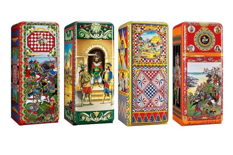 Ψυγεία fashion icons σινιέ Dolce & Gabanna  - Χρυσοί Σκούφοι