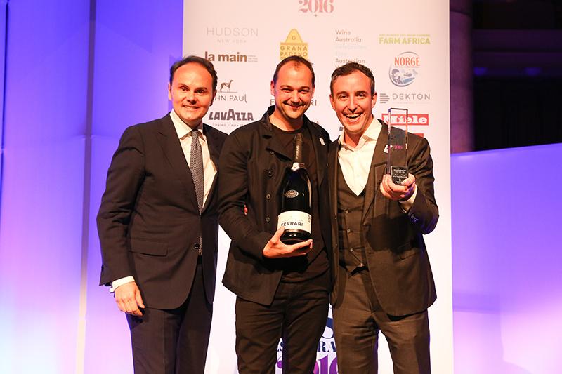 Daniel Humm (κέντρο) και Will Guidara (δεξιά) τρίτο καλύτερο εστιατόριο με το καλύτερο service στον κόσμο