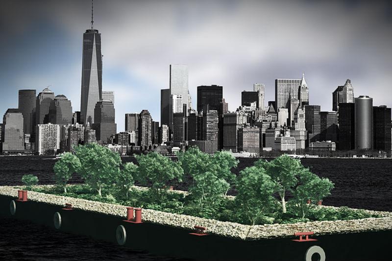 Ένα πλωτό «δάσος» ταΐζει τη Νέα Υόρκη - Χρυσοί Σκούφοι