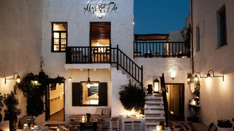 Agosta: Πάρος, για aperitivo με ελληνικό άρωμα - Χρυσοί Σκούφοι