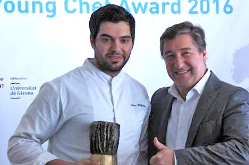 Συγχαρητήρια στον Σταμάτη Μισομικέ, είναι ο καλύτερος Νέος Σεφ  της Ευρώπης! - Χρυσοί Σκούφοι