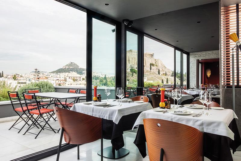 Modern Rooftop Dining: θεαματικό γκουρμέ μυστικό - Χρυσοί Σκούφοι