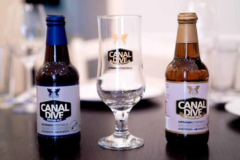 «Canal Dive», οι πρώτες «μικρές» Κορινθιακές μπίρες  - Χρυσοί Σκούφοι