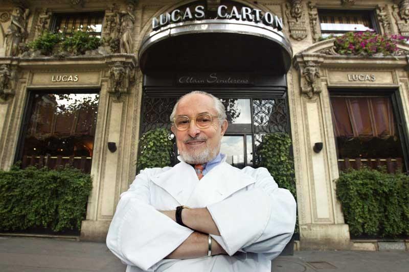 Alain Senderens: ο επαναστάτης της nouvelle cuisine, δεν μένει πια εδώ - Χρυσοί Σκούφοι
