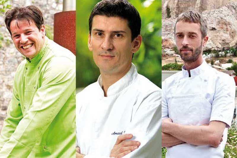 Τρεις σπουδαίοι σεφ στο «Treehouse» για καλό σκοπό - Χρυσοί Σκούφοι