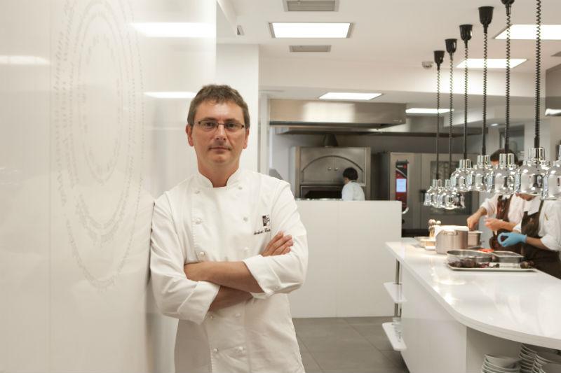 O κορυφαίος Βάσκος της technomotional κουζίνας Andoni Luis Aduriz