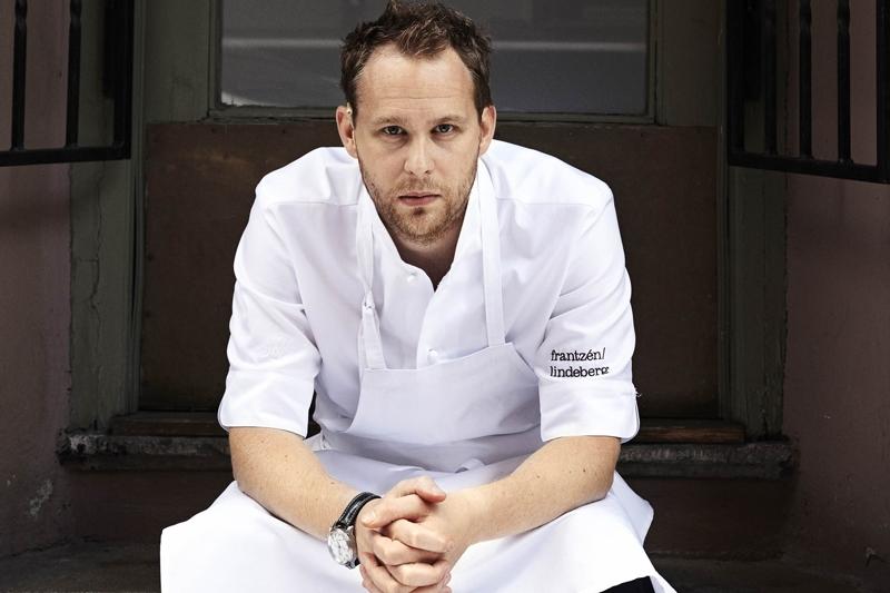 O εξαιρετικός Σουηδός σεφ Björn Frantzén