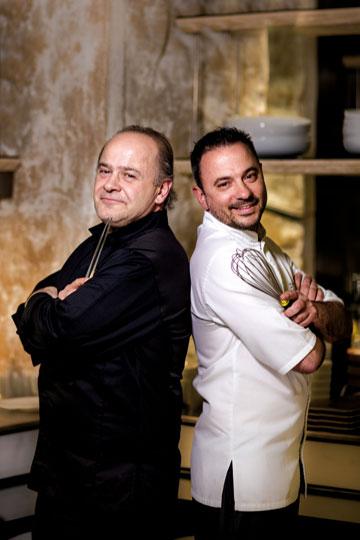 Γιώργος Στυλιανουδάκης, Δημήτρης Χρονόπουλος, chef και chef patissier, κουζίνα κι επιδόρπιο σε υψηλό επίπεδο στο «Kensho»