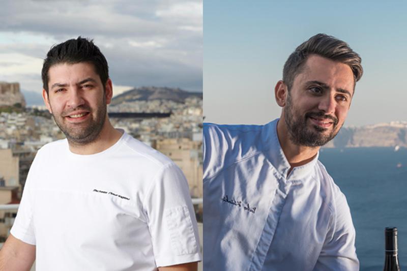 O Μιχάλης Νουρλόγλου και ο Παύλος Κυριάκης συναντιούνται στην κουζίνα  - Χρυσοί Σκούφοι