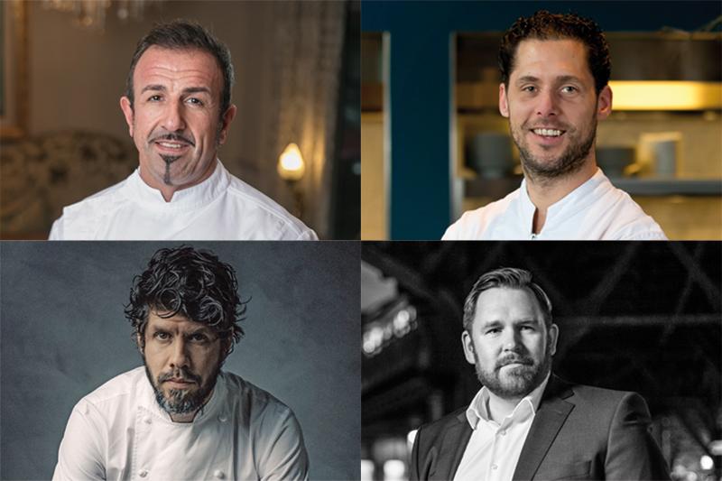 8 πολλά υποσχόμενα ονόματα της διεθνούς σκηνής στο φετινό Sani Gourmet - Χρυσοί Σκούφοι