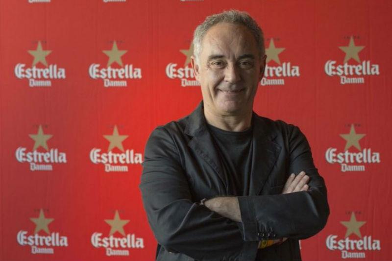 Ο Ferran Adria στο Estrella Damm Gastronomy Congress στην Αθήνα - Χρυσοί Σκούφοι