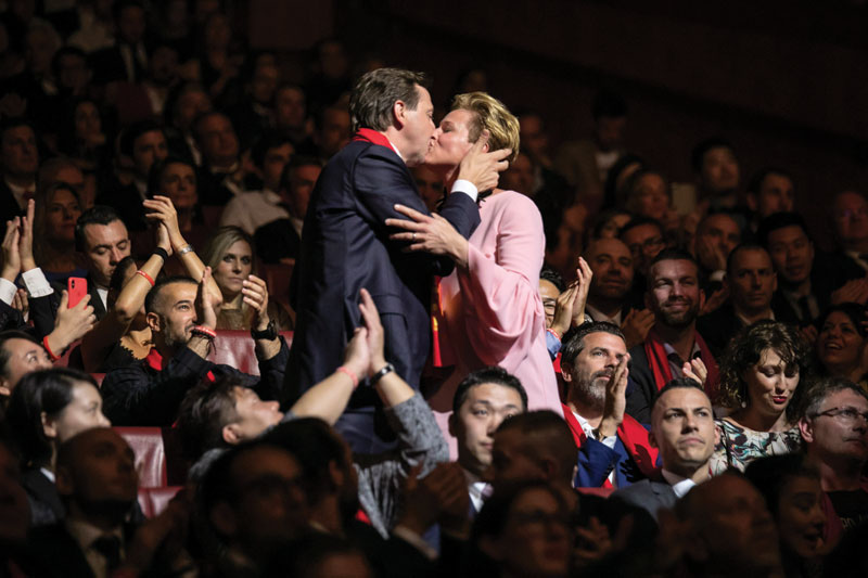 In the mood for love ο Heinz και η Birgit Reitbauer, των οποίων το «Steirereck» (Βιένη) βρέθηκε στη 14η θέση.