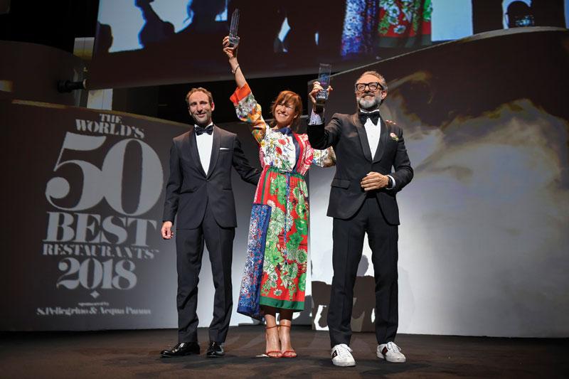 Ο Massimo Bottura και το «Osteria Franscescana» καλύτεροι στον κόσμο - Χρυσοί Σκούφοι