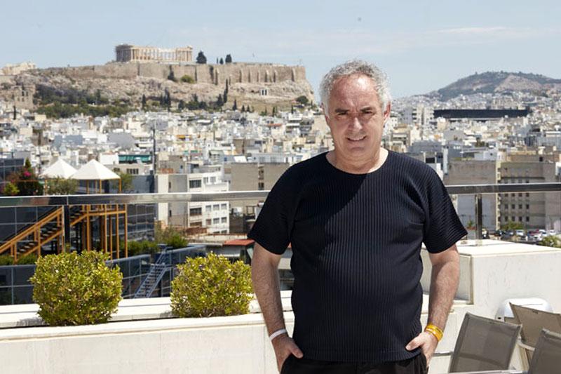 Ferran Adrià: Λέξεις για πάντα  - Χρυσοί Σκούφοι