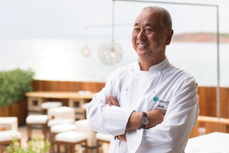 Nobu Matsuhisa: «Το τέλειο σούσι είναι σαν ν' αγγίζεις χέρι μωρού!» - Χρυσοί Σκούφοι