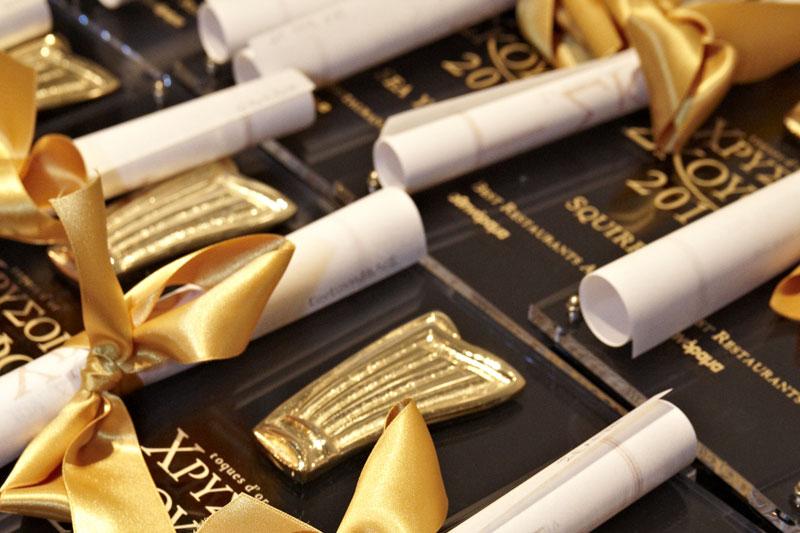 Μόλις αναρτήθηκαν οι υποψηφιότητες για τους Χρυσούς Σκούφους και τα Βραβεία Ελληνικής Κουζίνας 2019  - Χρυσοί Σκούφοι