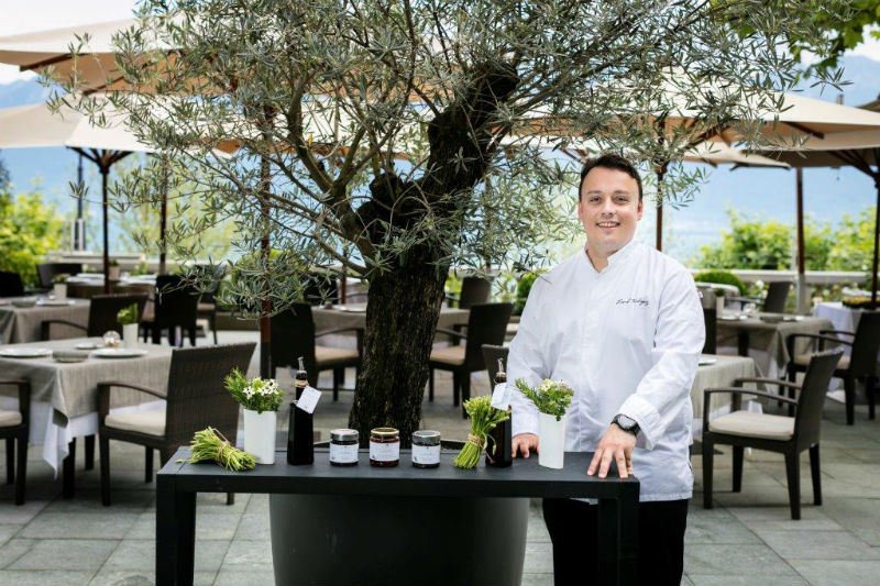 Ο βραβευμένος με αστέρι Michelin σεφ Lionel Rodriguez
