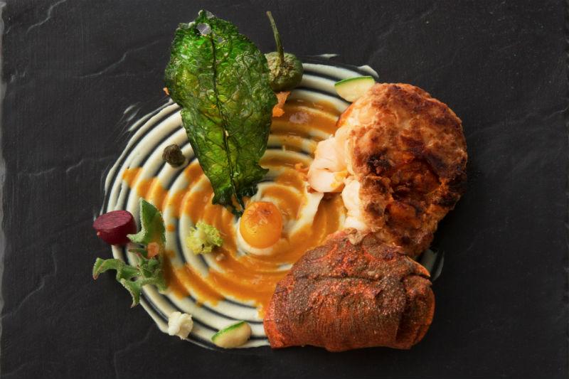 Η σύγχρονη κουζίνα του Jean-Charles Metayer επιβεβαιώνει το υψηλό της επίπεδο στο «Calypso» στην Ελούντα.