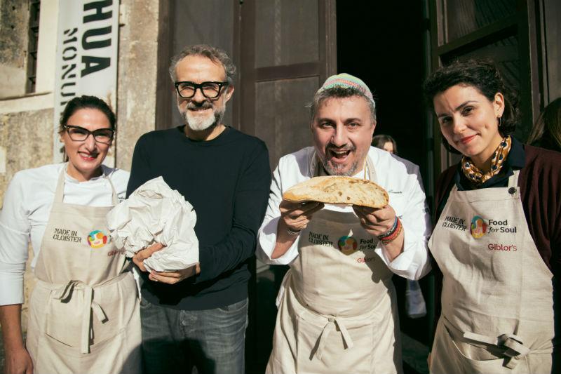 Ο Massimo Bottura με το παγκόσμιο project του «Food for Soul» ευαισθητοποιεί τους foodies απέναντι σε ανθρώπους που βρίσκονται σε διατροφική ανασφάλεια.