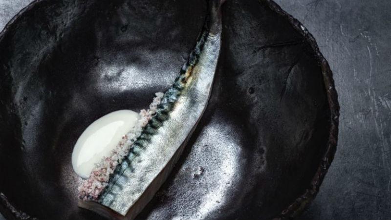 Ένα από τα πιάτα που χάρισαν στον σεφ δύο αστέρια Michelin