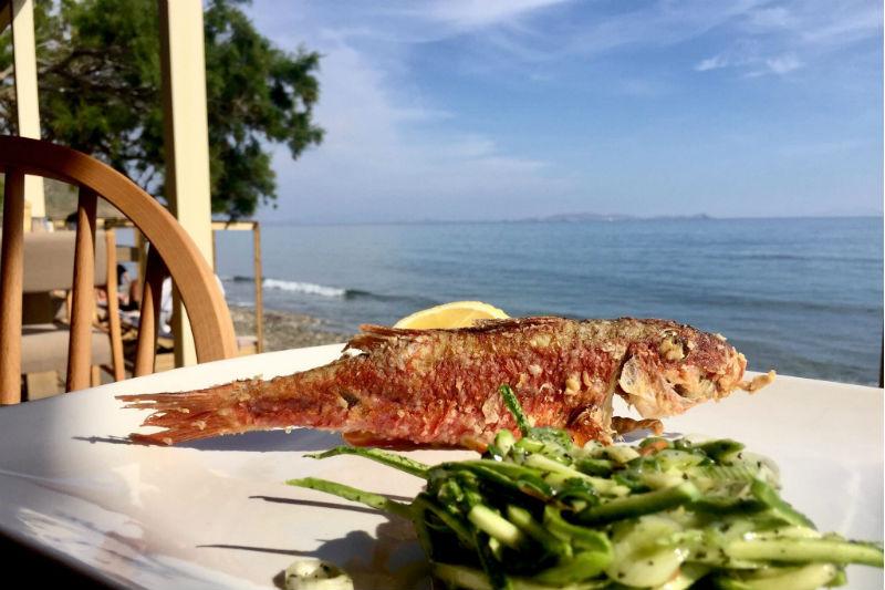 H «Μαραθιά» είναι εστιατόριο-προορισμός στην Τήνο - Χρυσοί Σκούφοι