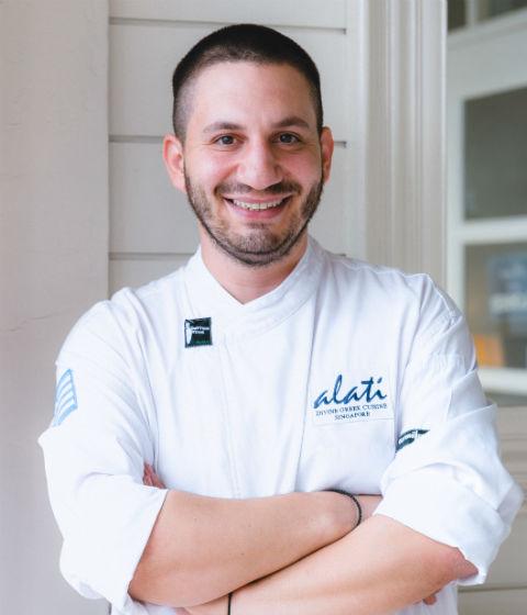 Ο σεφ Αλμπέρτο Σιμιλίδης