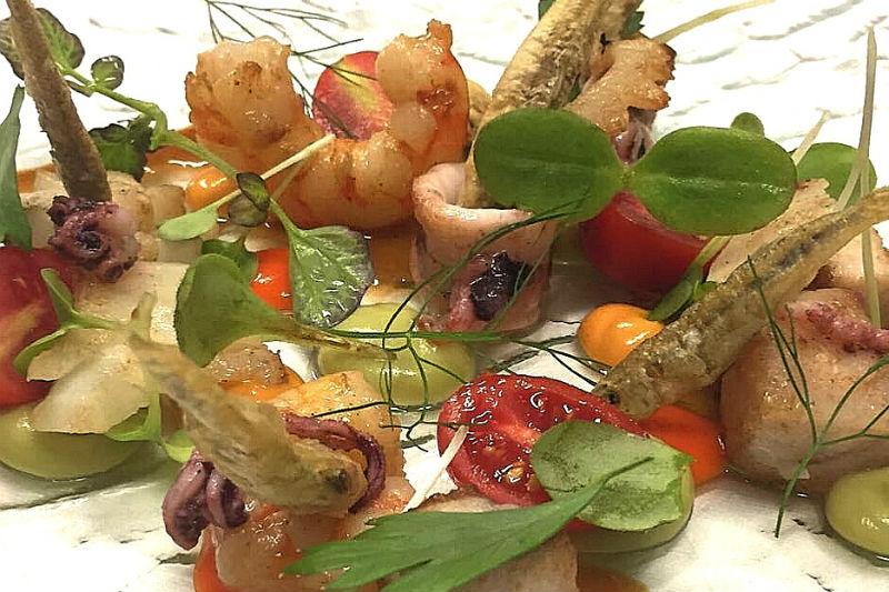 Στο διάσημο seafood εστιατόριο της Βενετίας «Hostaria da Franz» - Χρυσοί Σκούφοι