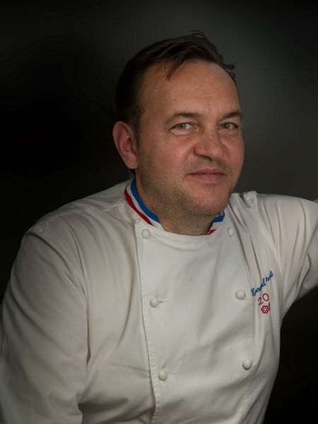 O τριάστερος Emmanuel Renaut στο «Lauda»
