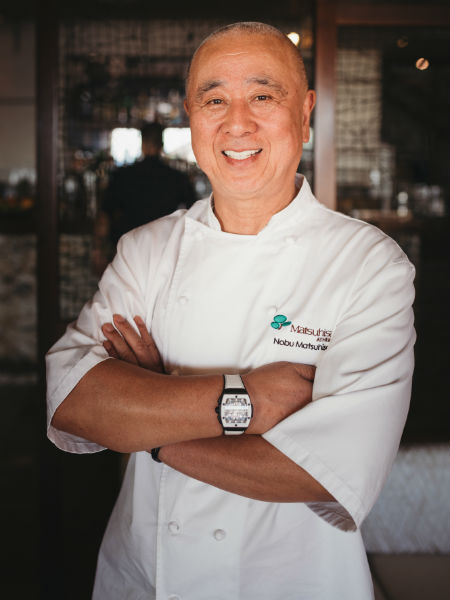 Nobu, ο μετρ της σύγχρονης γιαπωνέζικης κουζίνας και του nikkei fusion.