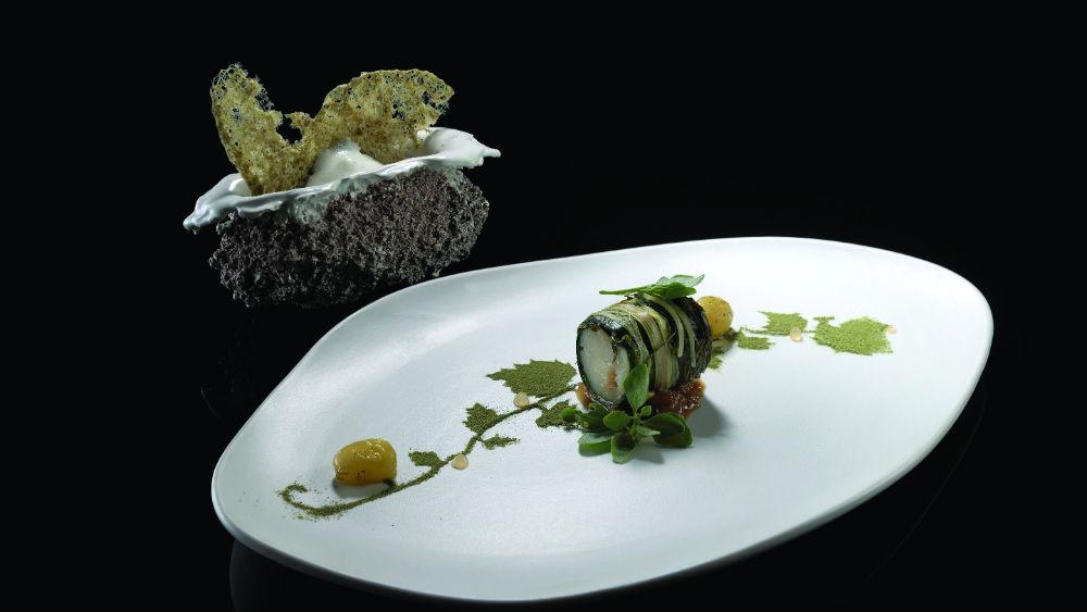 Νεωτεριστικό γιαπράκι κολοχτύπας στο «Noble Gourmet Restaurant» στη Ρόδο