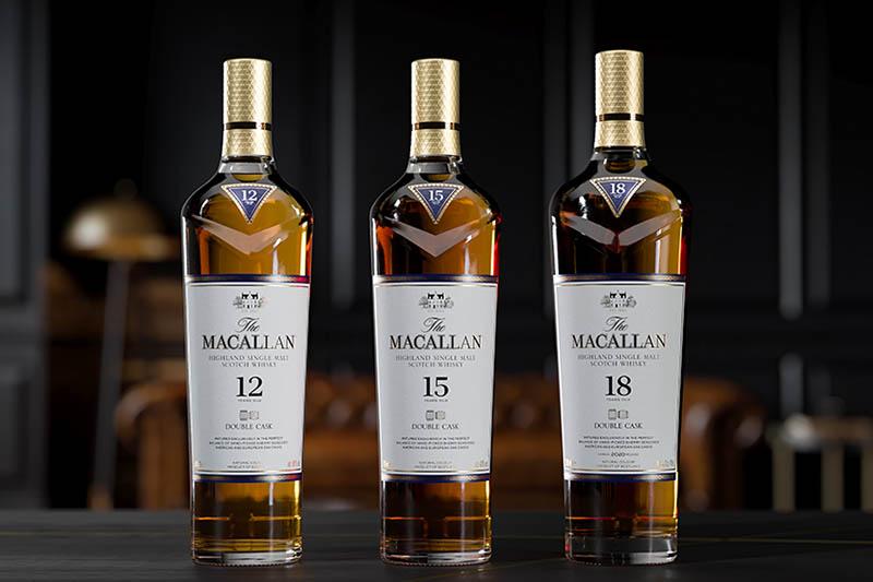 Η σειρά The Macallan Double Cask μεγαλώνει και αυτές τις γιορτές, υποδεχόμαστε τα νέα The Macallan Double Cask 15 και 18 ετών - Χρυσοί Σκούφοι